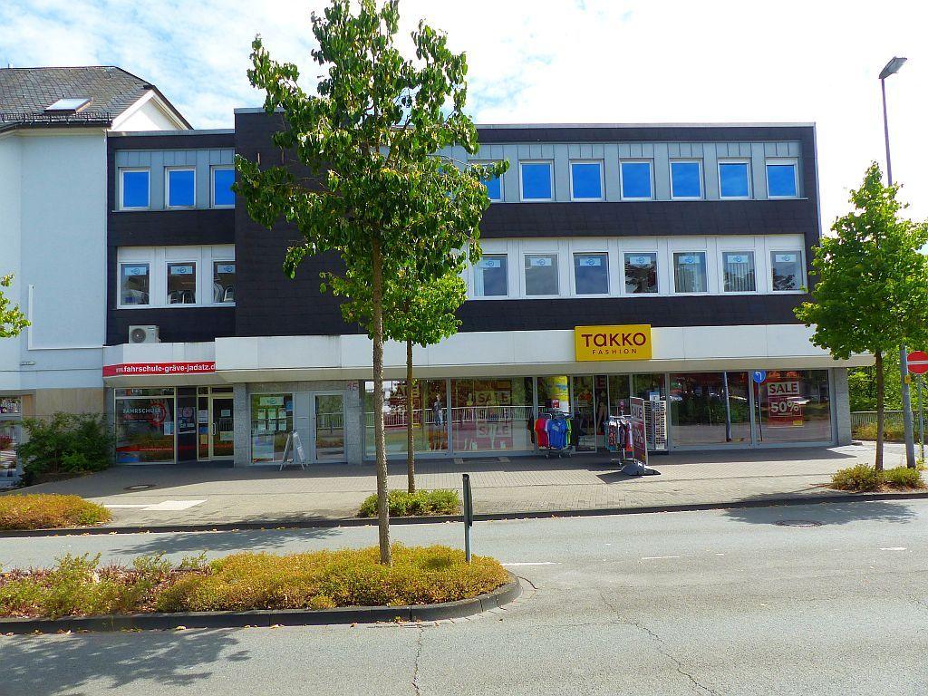 Eingangsseite (links im Bild)